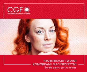 Regeneracja Twoimi komórkami macierzystymi i czynnikami wzrostu – CGF
