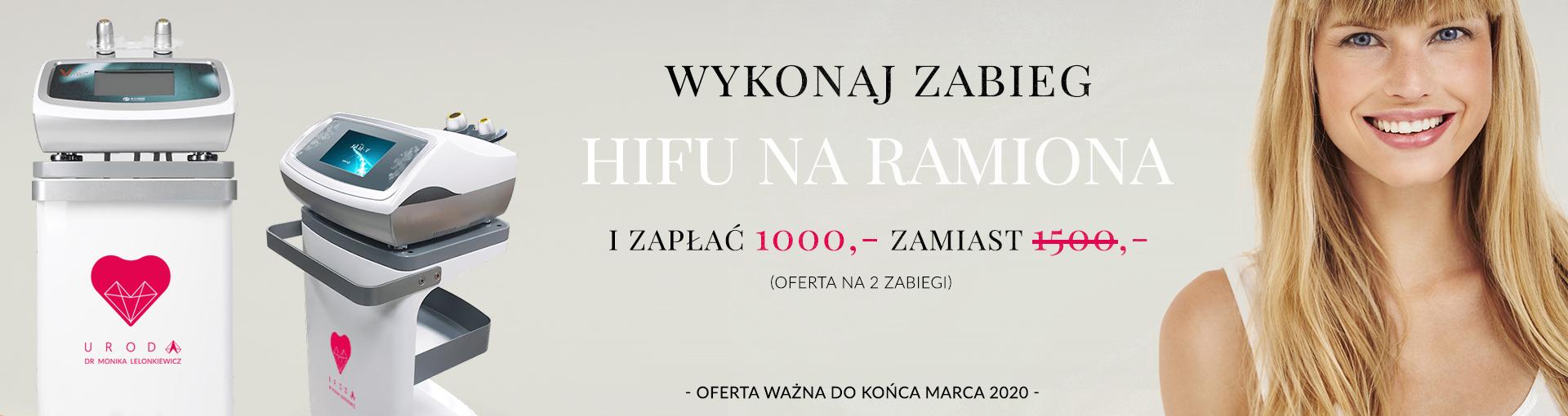 HIFU RAMIONA – skorzystaj z promocji
