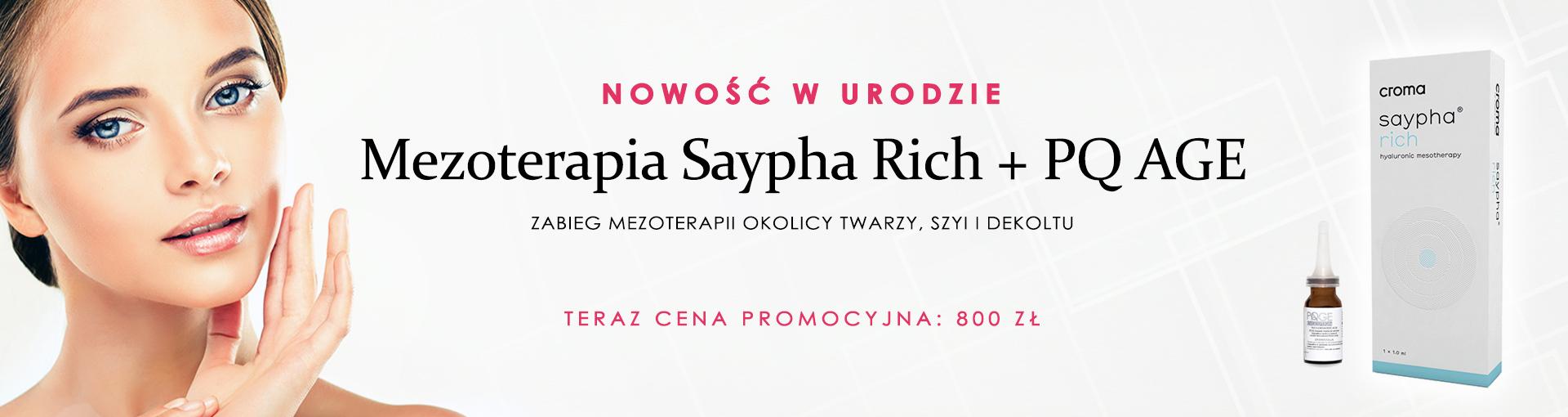 Mezoterapia Saypha Rich + PQ AGE